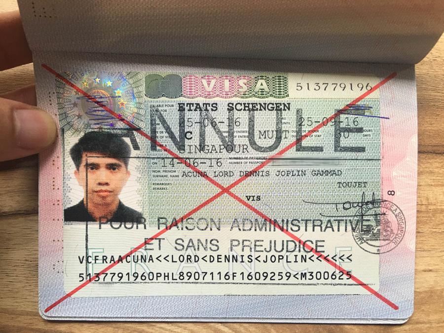 Schengen Visa - Error