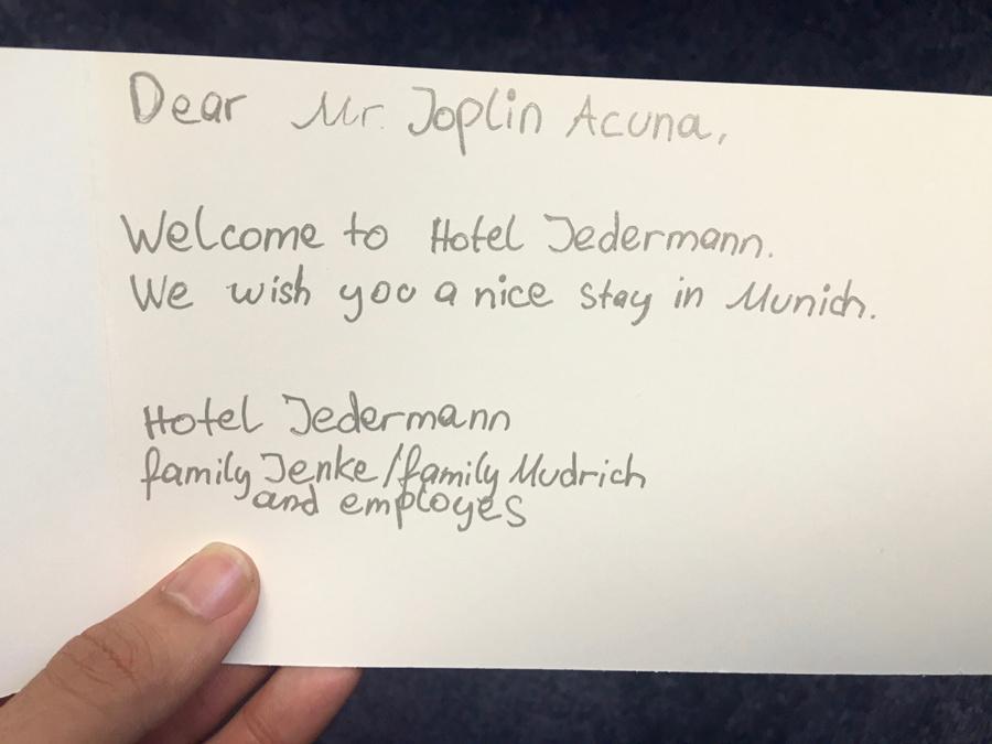 Hotel Jedermann, Munich