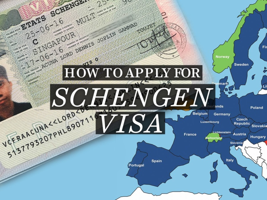 Schengen Visa (Business & Tourism) application for Filipinos in Singapore