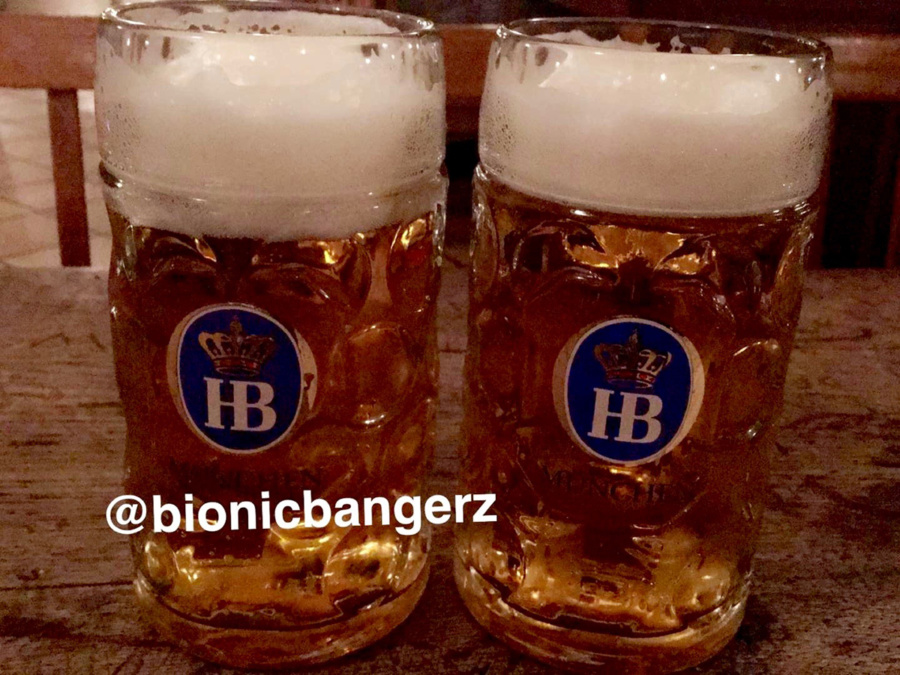 Authentic Bavarian beer