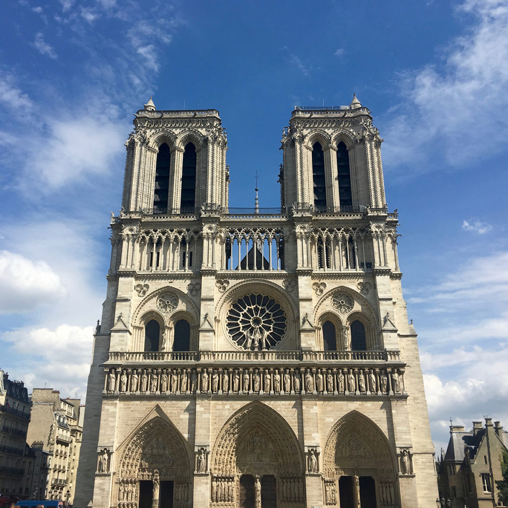Paris Main Attractions In One Day: Paris Day 2: Climbing The Towers Of Notre-Dame €� Lord