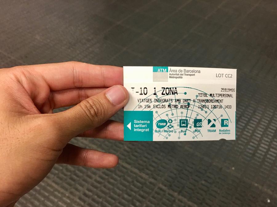 T10 Metro Ticket