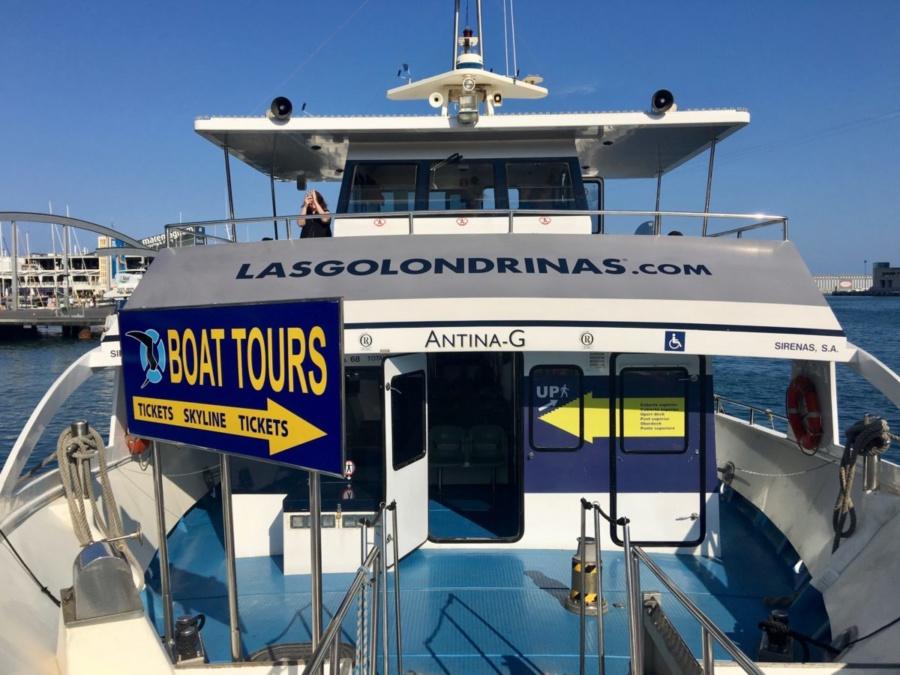 Boarding Las Golondrinas
