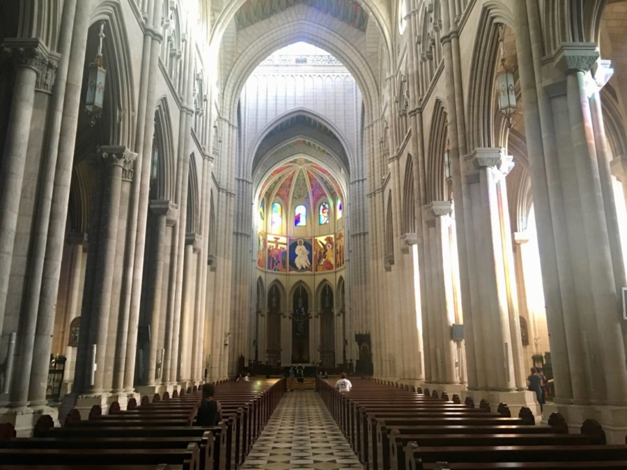 Catedral de Sta. María la Real de la Almudena in Madrid