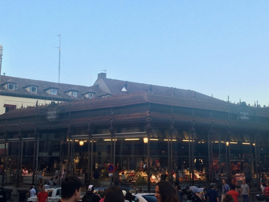 Mercado de San Miguel in Madrid
