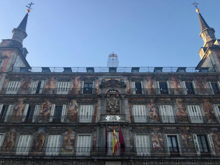 Plaza Mayor in Madrid