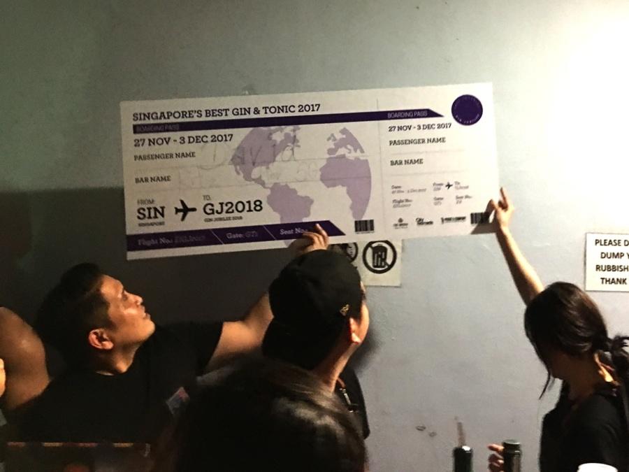 The Singapore Gin Jubilee 2017