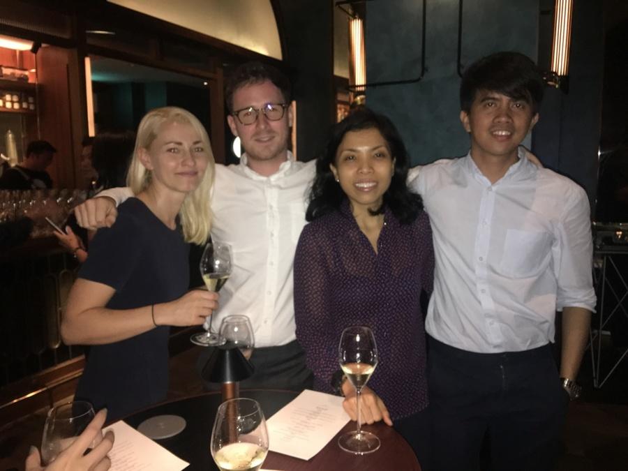 Origin Bar launch at Shangri-La Hotel, Singapore