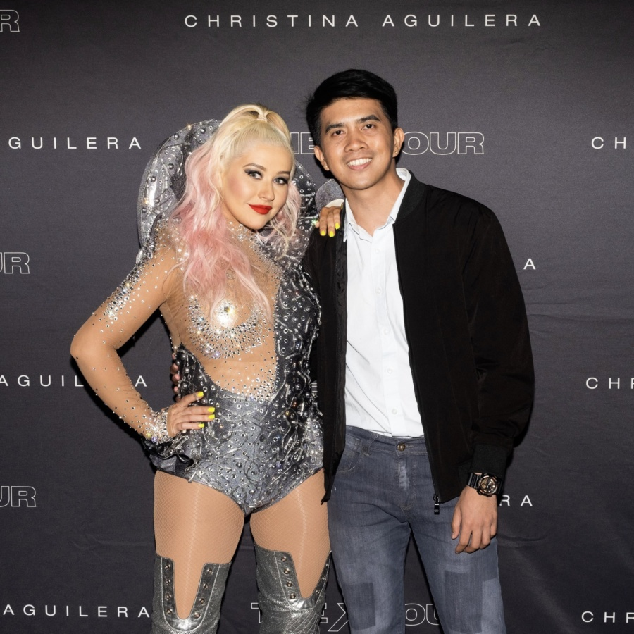 Two decades in the making: Finally meeting my idol Christina Aguilera