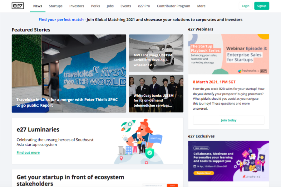e27 | websites for finding jobs in Singapore