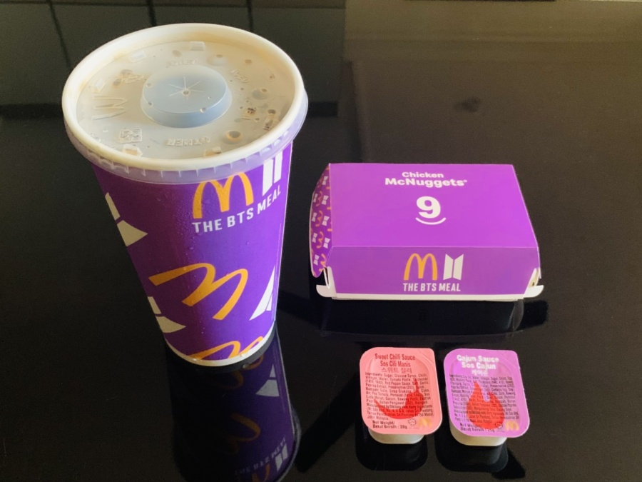 BTS Meal McDonald's Singapore review | Lord Around The World