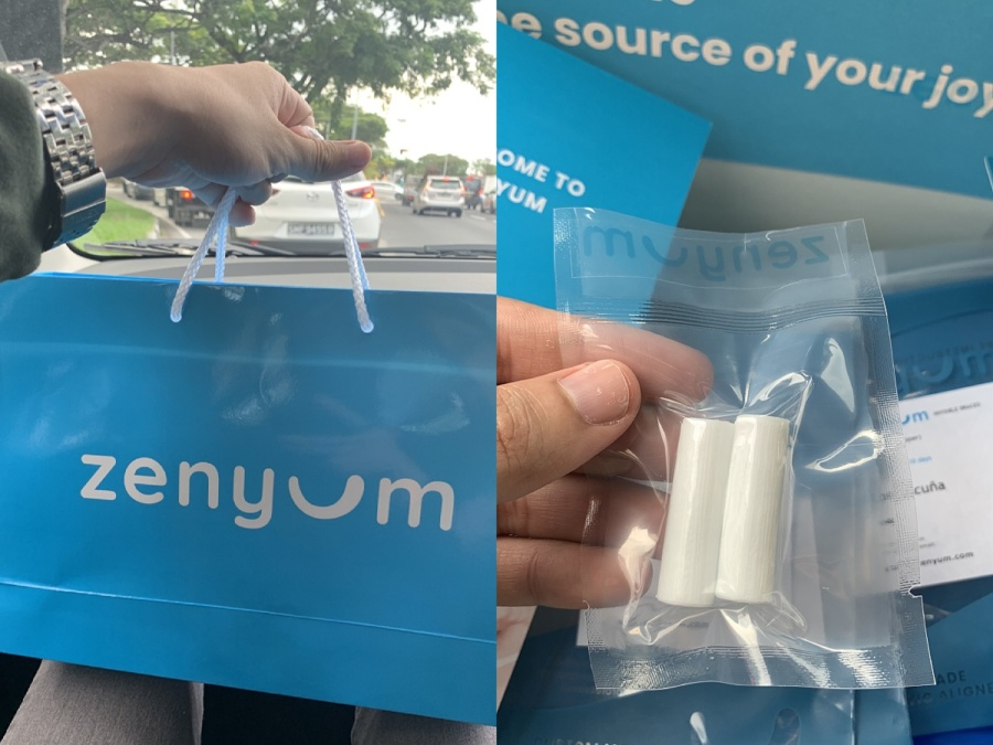 Zenyum Singapore Review | Receiving the whole set